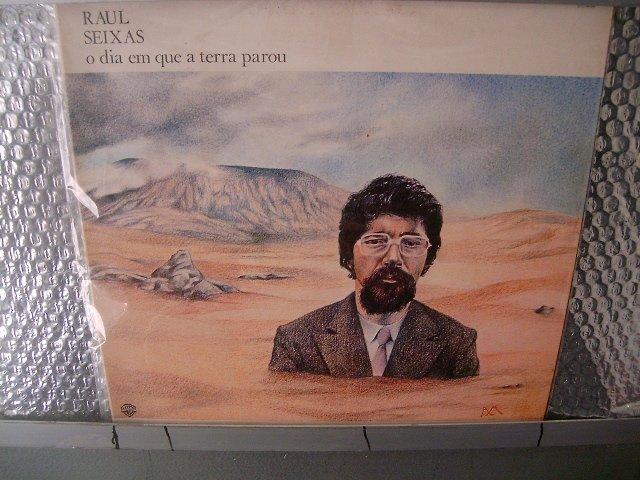 RAUL SEIXAS o dia em que a terra parou LP 1988 ROCK MUITO RARO VINIL