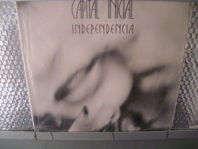 CAPITAL INICIAL independência LP 1987 ROCK MUITO RARO VINIL
