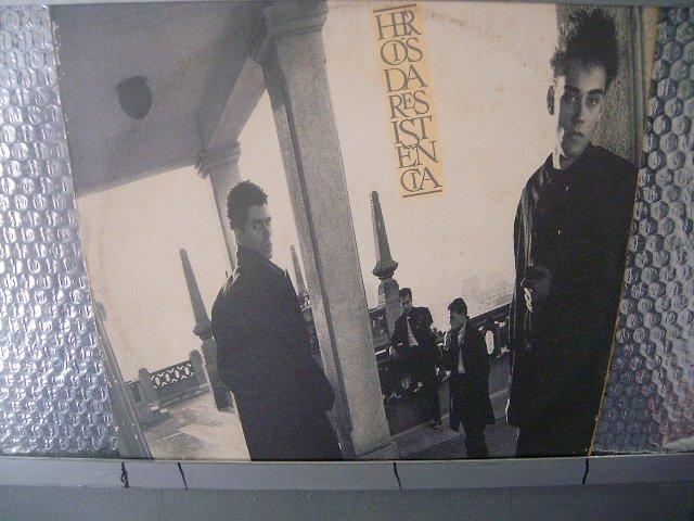 HER�IS DA RESIST�NCIA heróis da resistência LP 1986 ROCK MUITO RARO VINIL