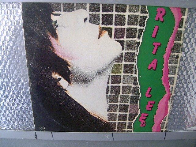 RITA LEE rita lee LP 1986 ROCK BRASIL MUITO RARO VINIL