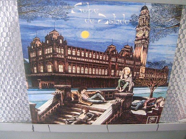 GOLPE DE ESTADO golpe de estado LP 1986 ROCK SEMI NOVO MUITO RARO VINIL