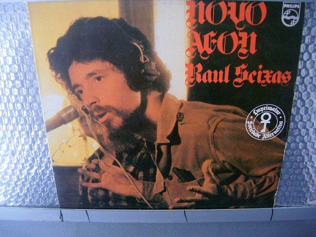 RAUL SEIXAS novo aeon LP 1983 ROCK MUITO RARO VINIL
