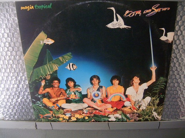 A COR DO SOM magia tropical LP 1982 ROCK MUITO RARO VINIL