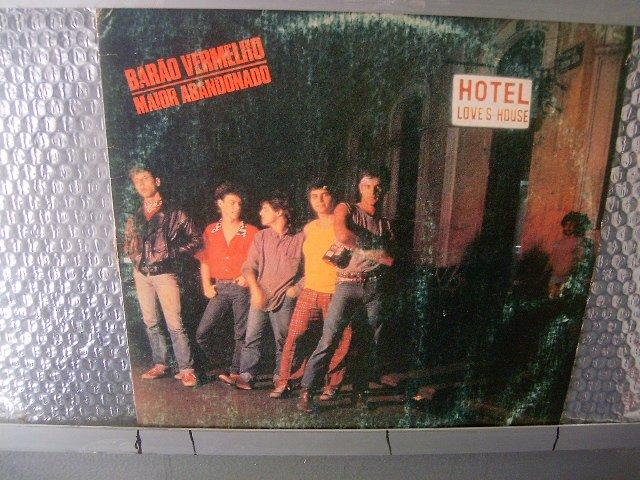BAR�O VERMELHO maior abandonado LP 1984 ROCK BRASIL EXCELENTE MUITO RARO VINIL