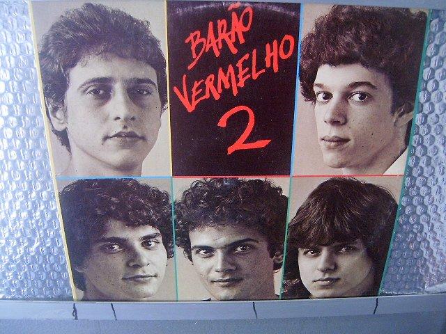 BAR�O VERMELHO  barão vermelho 2 LP 1983 ROCK BRASIL EXCELENTE MUITO RARO VINIL