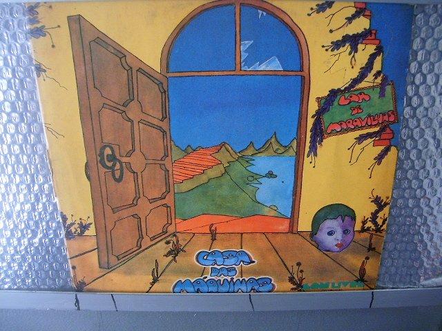 CASA DAS M�QUINAS lar de maravilhas LP 1975 ROCK MUITO RARO VINIL