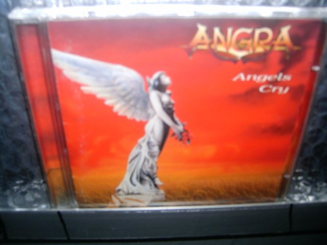 ANGRA angels cry CD 1994 HEAVY METAL