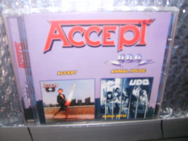 ACCEPT accept UDO animal house CD 1979/1987 HEAVY METAL