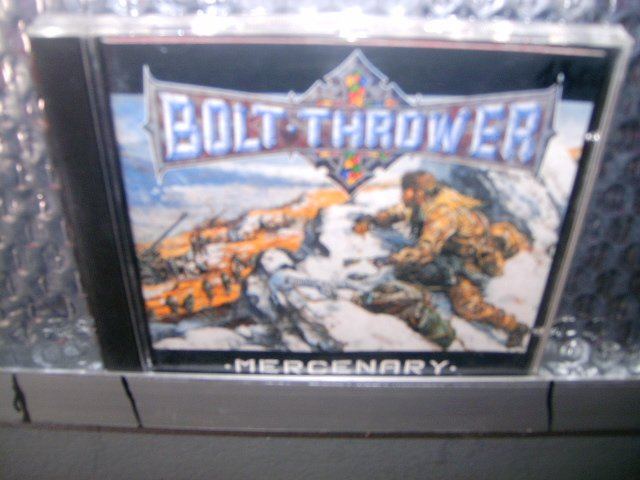BOLT THROWER mercenary CD 1998 DEATH METAL