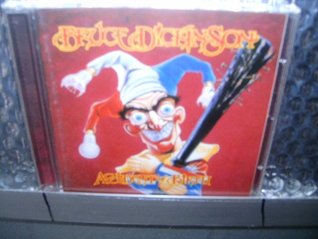 BRUCE DICKINSON accident of birth CD 1997 HEAVY METAL