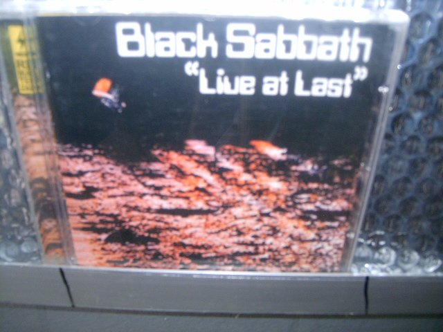 BLACK SABBATH live at last CD 1980 HEAVY METAL