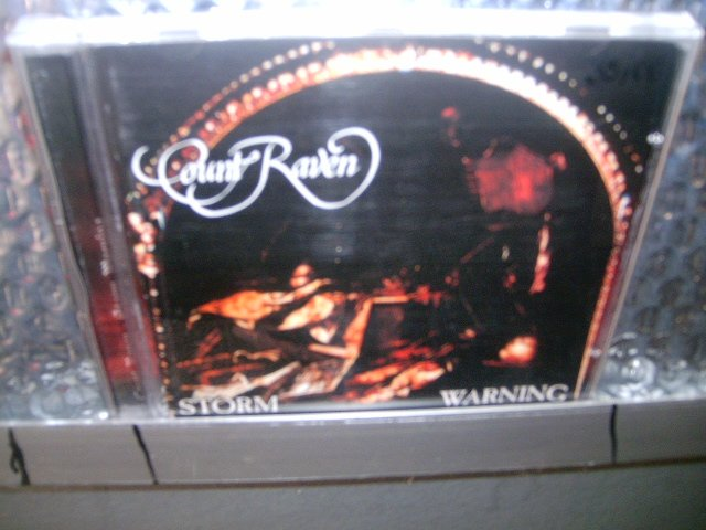 COUNT RAVEN storm warning CD 1990 DOOM HEAVY
