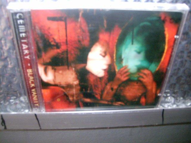 CEMETARY black vanity CD 1994 DOOM/GOTHIC METAL