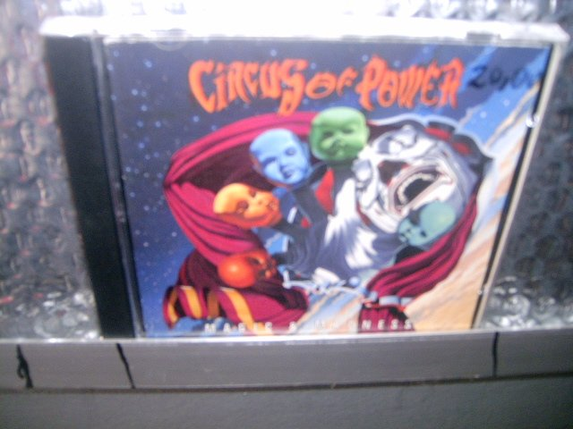 CIRCUS OF POWER magic & madness CD 1993 HEAVY METAL