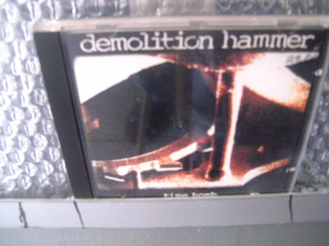 DEMOLITION HAMMER time bomb CD 1994 DEATH METAL