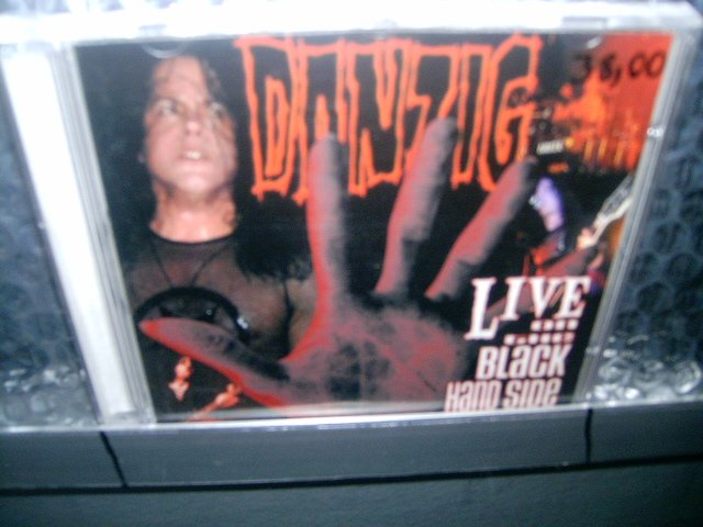 DANZIG live on the black hand side 2CD 2001 HEAVY METAL