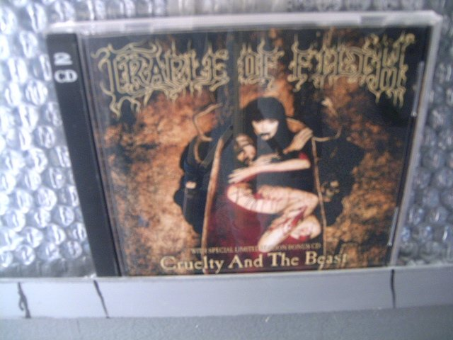 CRADLE OF FILTH cruelty and the beast 2CD1998 BLACK METAL