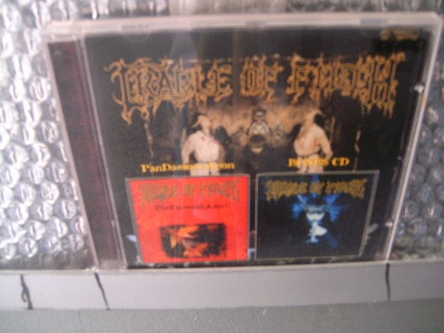 CRADLE OF FILTH pandaemonaeon / bonus  CD 2002 BLACK METAL