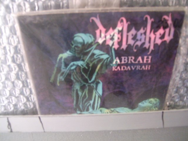 DEFLESHED abrah kadavrah CD 1998 DEATH METAL