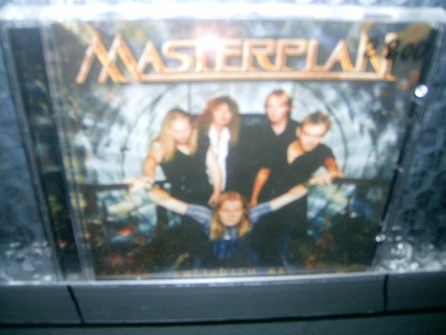MASTERPLAN enlighten me CD 2002 HEAVY METAL