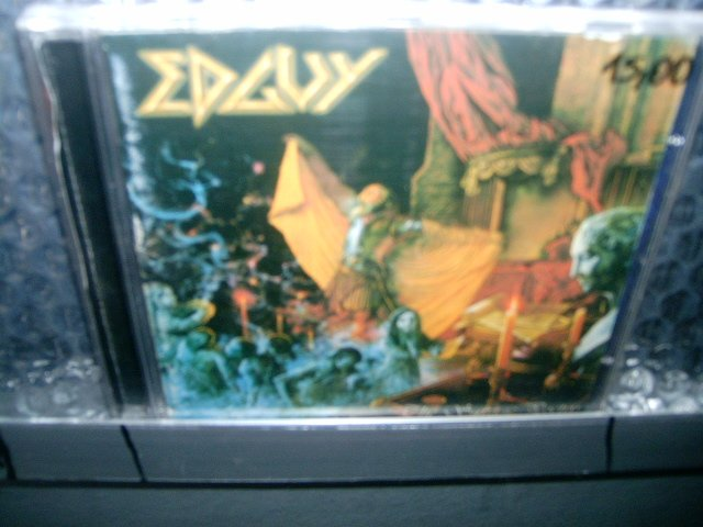 EDGUY the savage poetry CD 2000 HEAVY METAL
