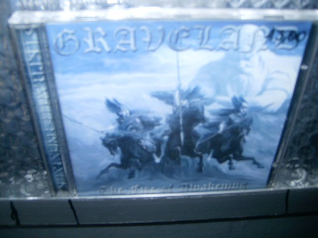 GRAVELAND the fire of awakening CD BLACK METAL