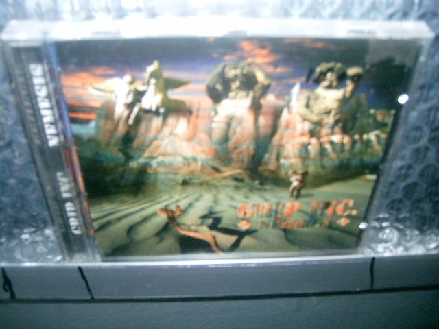 GRIP INC. nemesis CD 1997 THRASH METAL