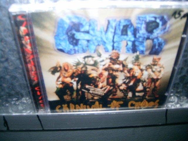 GWAR carnival of chaos CD 1997 PUNK ROCK/HEAVY METAL