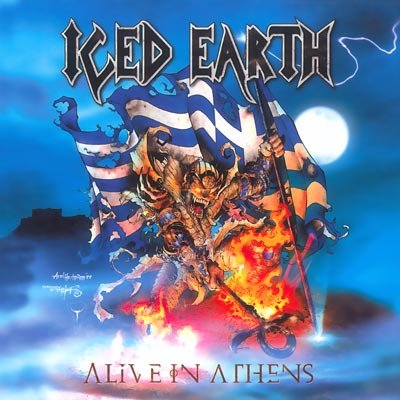 ICED EARTH alive in athens BOX 3 CD 1999 HEAVY THRASH METAL