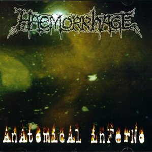 HAEMORRHAGE anatomical inferno CD 1998 SPLATTER GORE