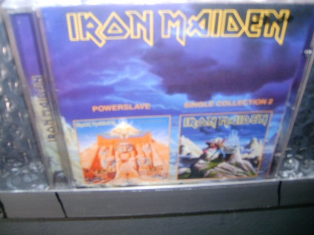 IRON MAIDEN powerslave/single collection 2 CD 1984 HEAVY METAL