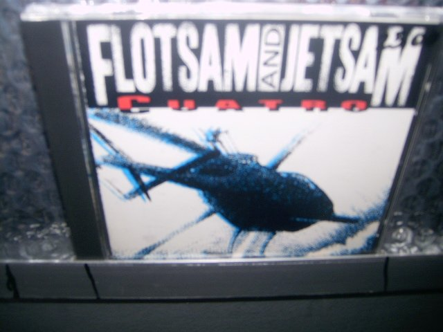 FLOTSAM AND JETSAM cuatro CD 1992 THRASH METAL