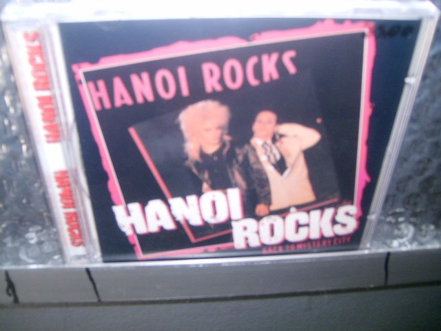 HANOI ROCKS back to the mistery city CD 1983 GLAM PUNK ROCK