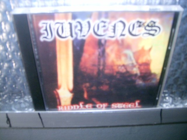 IUVENES riddle of steel CD 2000  BLACK METAL