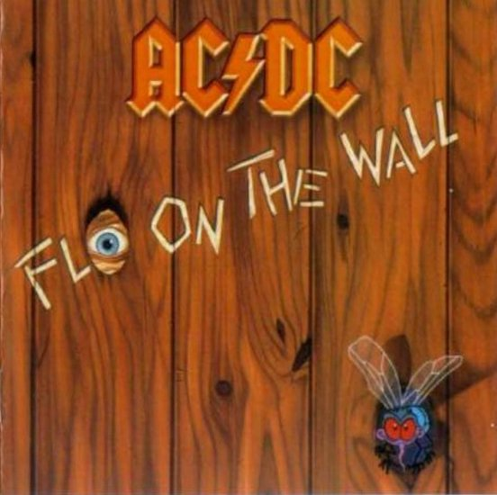 AC DC fly on the wall CD 1985 ROCK