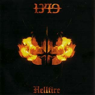 1349 hellfire CD 2005 BLACK METAL
