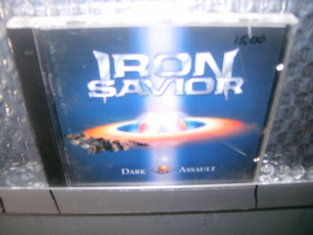 IRON SAVIOR dark assault CD 2000 HEAVY METAL
