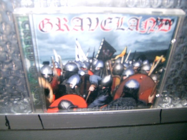 GRAVELAND creed of iron CD 2000 BLACK METAL