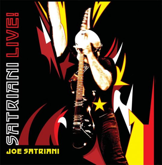 JOE SATRIANI satrian live 2CD 2006 HARD ROCK