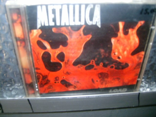 METALLICA load CD 1996 POP ROCK