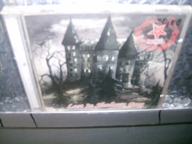MORGUL lost in shadow grey CD 1997 BLACK METAL