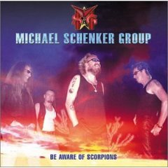 MICHAEL SCHENKER GROUP be aware of scorpions CD 2001 HARD ROCK
