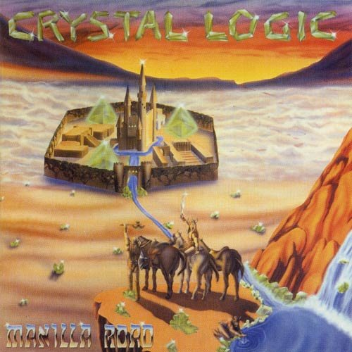 MANILLA ROAD crystal logic CD 1983 HEAVY METAL