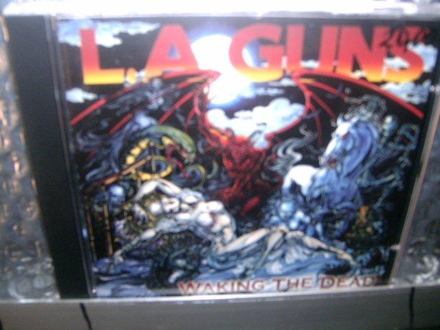L.A. GUNS waking the dead CD 2002 HARD ROCK