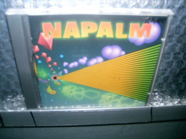 NAPALM zero to black CD 1990 HEAVY METAL