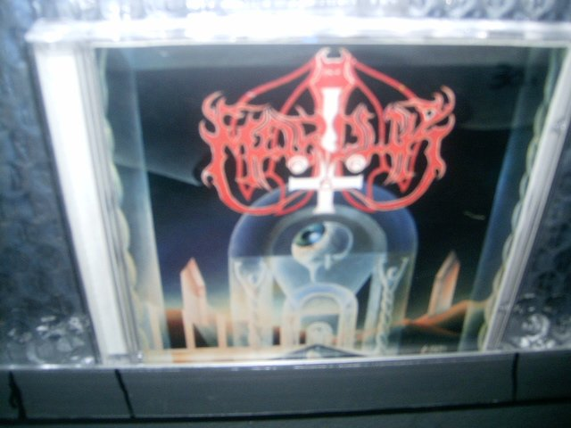 MARDUK dark endless CD 1992 BLACK METAL