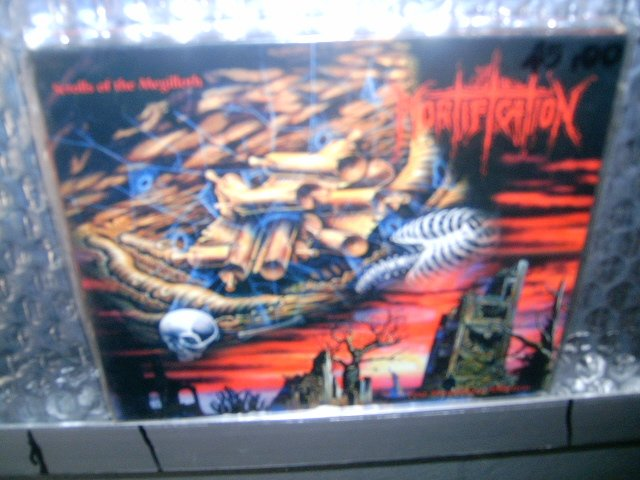 MORTIFICATION scrolls of the megilloth post momentary affliction 2CD 1996 DEATH METAL