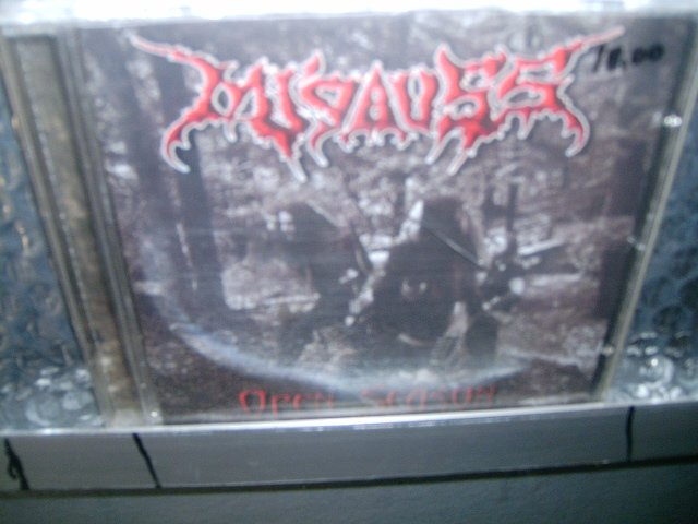 MI'GAUSS open season CD 2003 BLACK METAL