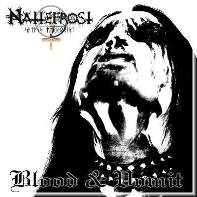 NATTEFROST blood & vomit CD 2004 BLACK METAL