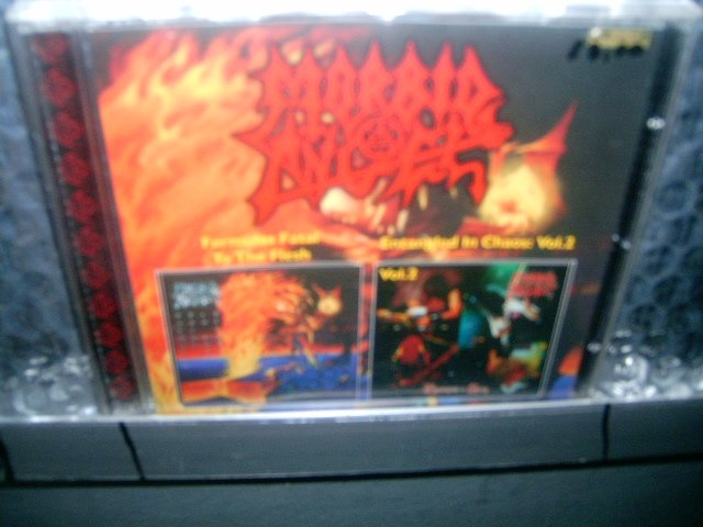 MORBID ANGEL formulas fatal to the flesh entangled in chaos CD 1997 1996 DEATH METAL